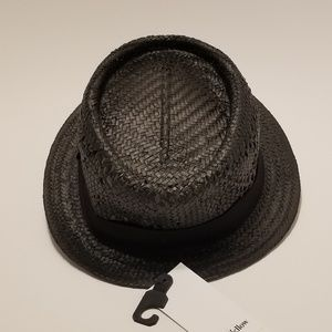 076eaab33c6cf Goodfellow   Co Accessories - Flat Brim Paper Vented Fitted Fedora